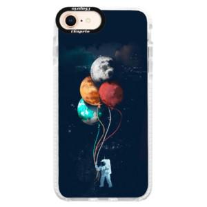 Silikonové pouzdro Bumper iSaprio Balloons 02 na mobil iPhone 8