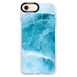 Silikonové pouzdro Bumper iSaprio Blue Marble na mobil Apple iPhone 8