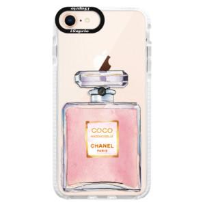 Silikonové pouzdro Bumper iSaprio Chanel Rose na mobil Apple iPhone 8