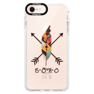 Silikonové pouzdro Bumper iSaprio BOHO na mobil Apple iPhone 8