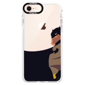 Silikonové pouzdro Bumper iSaprio BaT Comics na mobil iPhone 8