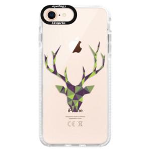 Silikonové pouzdro Bumper iSaprio Deer Green na mobil Apple iPhone 8