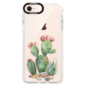 Silikonové pouzdro Bumper iSaprio Cacti 01 na mobil Apple iPhone 8