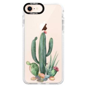 Silikonové pouzdro Bumper iSaprio Cacti 02 na mobil Apple iPhone 8
