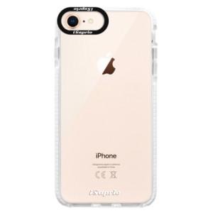 Silikonové pouzdro Bumper iSaprio 4Pure mléčné bez potisku na mobil iPhone 8