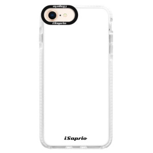 Silikonové pouzdro Bumper iSaprio 4Pure bílé na mobil iPhone 8