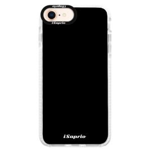 Silikonové pouzdro Bumper iSaprio 4Pure černé na mobil iPhone 8