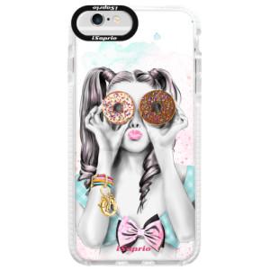 Silikonové pouzdro Bumper iSaprio Donuts 10 na mobil Apple iPhone 6 Plus/6S Plus