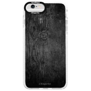Silikonové pouzdro Bumper iSaprio Black Wood 13 na mobil Apple iPhone 6 Plus/6S Plus
