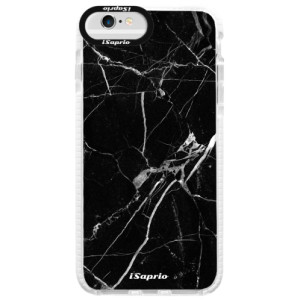 Silikonové pouzdro Bumper iSaprio Black Marble 18 na mobil Apple iPhone 6 Plus/6S Plus