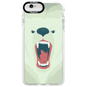 Silikonové pouzdro Bumper iSaprio Angry Bear na mobil iPhone 6 Plus/6S Plus