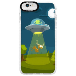 Silikonové pouzdro Bumper iSaprio Alien 01 na mobil iPhone 6 Plus/6S Plus