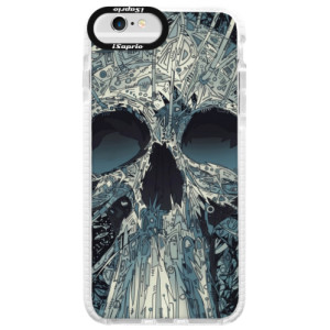 Silikonové pouzdro Bumper iSaprio Abstract Skull na mobil iPhone 6 Plus/6S Plus