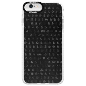 Silikonové pouzdro Bumper iSaprio Ampersand 01 na mobil iPhone 6 Plus/6S Plus