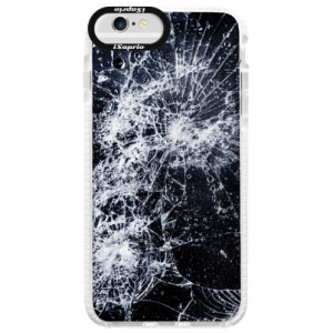 Silikonové pouzdro Bumper iSaprio Cracked na mobil Apple iPhone 6 Plus/6S Plus