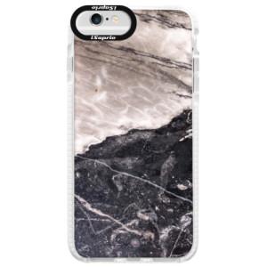 Silikonové pouzdro Bumper iSaprio BW Marble na mobil Apple iPhone 6 Plus/6S Plus