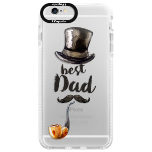 Silikonové pouzdro Bumper iSaprio Best Dad na mobil Apple iPhone 6 Plus/6S Plus