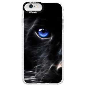 Silikonové pouzdro Bumper iSaprio Black Puma na mobil Apple iPhone 6 Plus/6S Plus