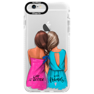 Silikonové pouzdro Bumper iSaprio Best Friends na mobil Apple iPhone 6 Plus/6S Plus