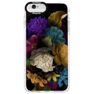 Silikonové pouzdro Bumper iSaprio Dark Flowers na mobil Apple iPhone 6 Plus/6S Plus