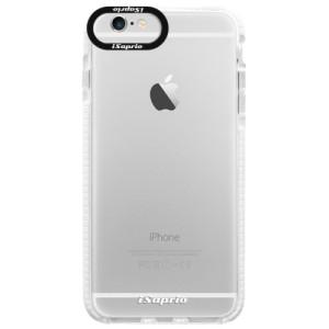 Silikonové pouzdro Bumper iSaprio 4Pure mléčné bez potisku na mobil iPhone 6 Plus/6S Plus