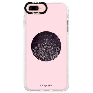Silikonové pouzdro Bumper iSaprio Digital Mountains 10 na mobil Apple iPhone 7 Plus