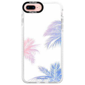 Silikonové pouzdro Bumper iSaprio Digital Palms 10 na mobil Apple iPhone 7 Plus
