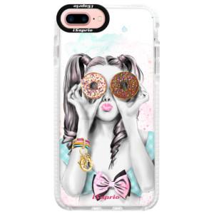 Silikonové pouzdro Bumper iSaprio Donuts 10 na mobil Apple iPhone 7 Plus