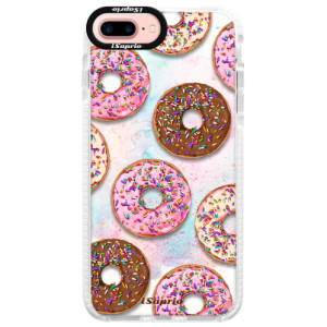 Silikonové pouzdro Bumper iSaprio Donuts 11 na mobil Apple iPhone 7 Plus
