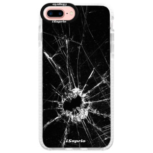 Silikonové pouzdro Bumper iSaprio Broken Glass 10 na mobil Apple iPhone 7 Plus