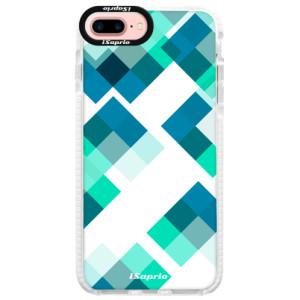 Silikonové pouzdro Bumper iSaprio Abstract Squares 11 na mobil iPhone 7 Plus