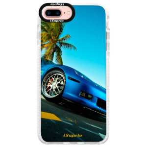 Silikonové pouzdro Bumper iSaprio Car 10 na mobil Apple iPhone 7 Plus