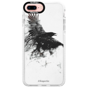 Silikonové pouzdro Bumper iSaprio Dark Bird 01 na mobil Apple iPhone 7 Plus