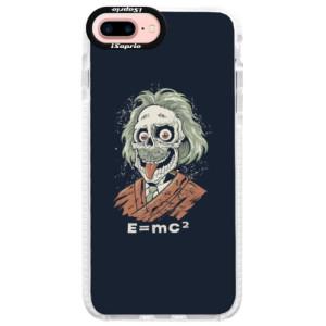 Silikonové pouzdro Bumper iSaprio Einstein 01 na mobil Apple iPhone 7 Plus