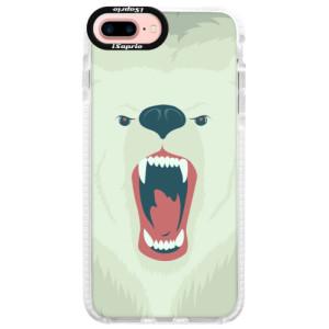 Silikonové pouzdro Bumper iSaprio Angry Bear na mobil iPhone 7 Plus