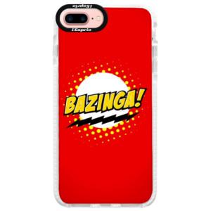 Silikonové pouzdro Bumper iSaprio Bazinga 01 na mobil iPhone 7 Plus