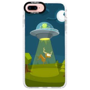 Silikonové pouzdro Bumper iSaprio Alien 01 na mobil iPhone 7 Plus