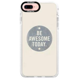 Silikonové pouzdro Bumper iSaprio Awesome 02 na mobil iPhone 7 Plus