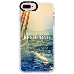 Silikonové pouzdro Bumper iSaprio Beginning na mobil Apple iPhone 7 Plus