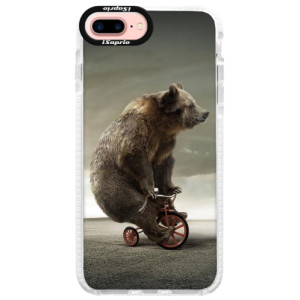 Silikonové pouzdro Bumper iSaprio Bear 01 na mobil Apple iPhone 7 Plus