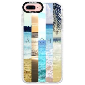 Silikonové pouzdro Bumper iSaprio Aloha 02 na mobil iPhone 7 Plus