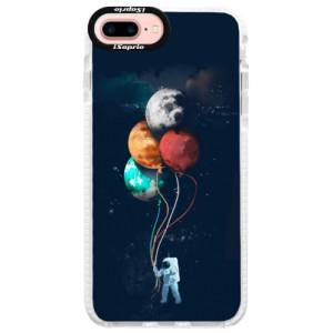 Silikonové pouzdro Bumper iSaprio Balloons 02 na mobil iPhone 7 Plus