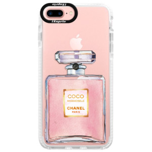 Silikonové pouzdro Bumper iSaprio Chanel Rose na mobil Apple iPhone 7 Plus