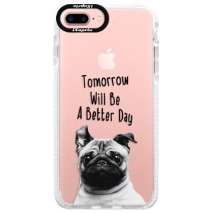 Silikonové pouzdro Bumper iSaprio Better Day 01 na mobil Apple iPhone 7 Plus