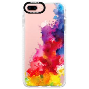 Silikonové pouzdro Bumper iSaprio Color Splash 01 na mobil Apple iPhone 7 Plus