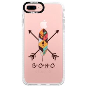 Silikonové pouzdro Bumper iSaprio BOHO na mobil Apple iPhone 7 Plus