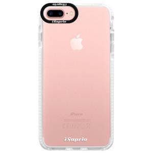 Silikonové pouzdro Bumper iSaprio 4Pure mléčné bez potisku na mobil iPhone 7 Plus