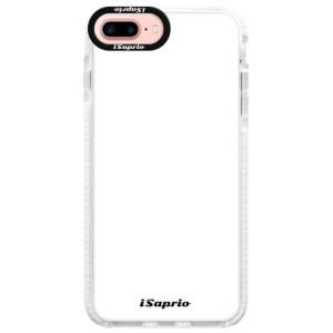 Silikonové pouzdro Bumper iSaprio 4Pure bílé na mobil iPhone 7 Plus