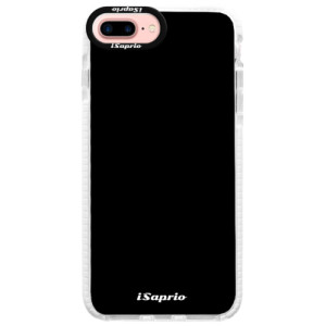 Silikonové pouzdro Bumper iSaprio 4Pure černé na mobil iPhone 7 Plus