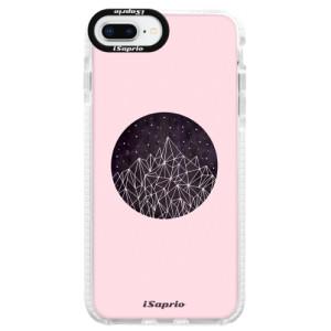 Silikonové pouzdro Bumper iSaprio Digital Mountains 10 na mobil Apple iPhone 8 Plus